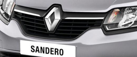 Renault Sandero Grille