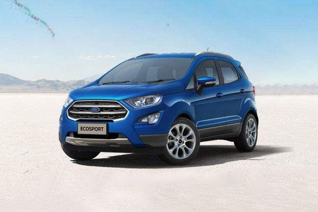 Ford EcoSport Front Left Side Image