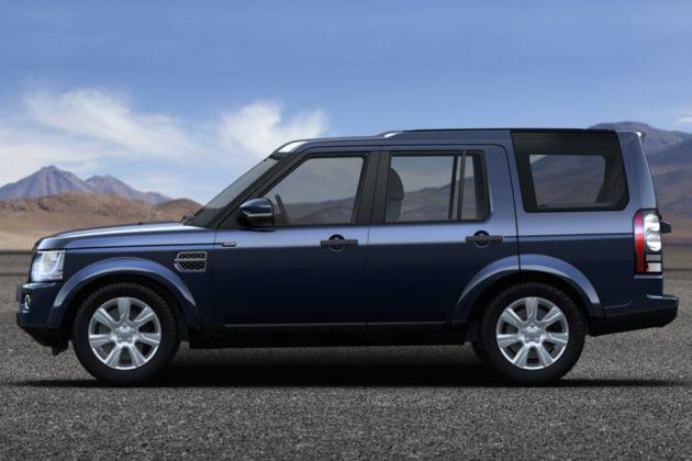 Land Rover Discovery Side View (Left)  Image
