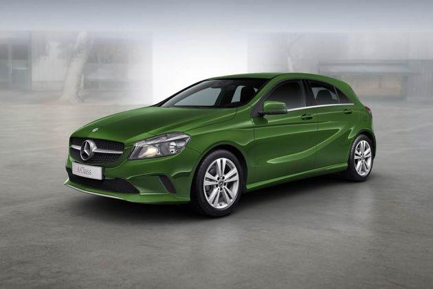 Mercedes benz a class price images reviews mileage for Mercedes benz a service cost