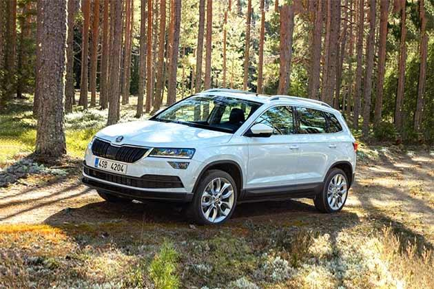 skoda karoq price features specs images colors reviews. Black Bedroom Furniture Sets. Home Design Ideas