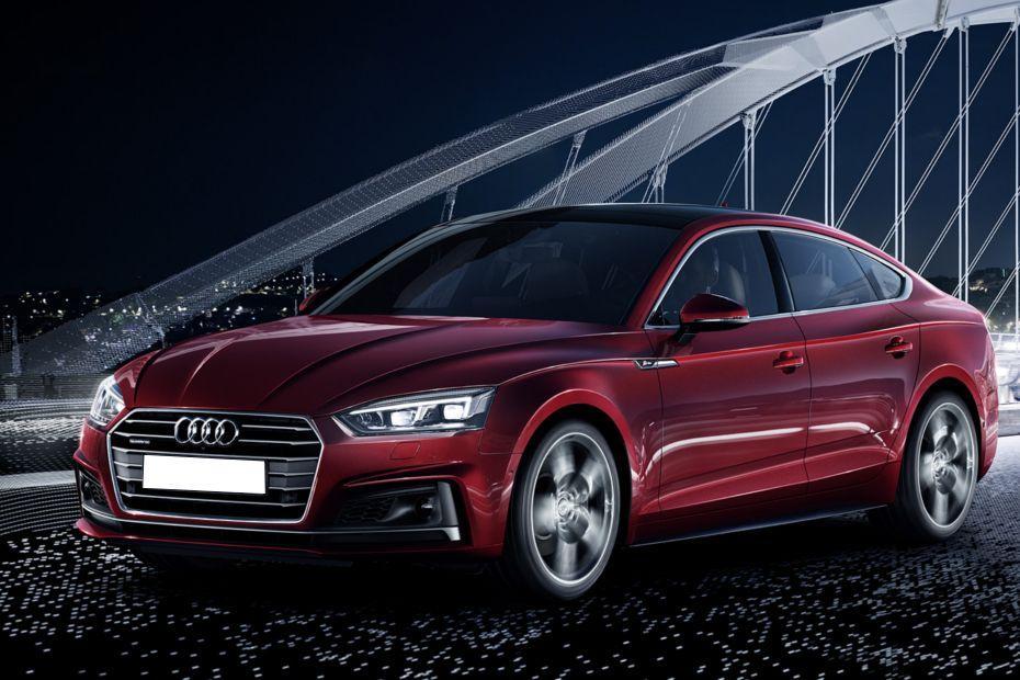 Audi A5 Front Left Side