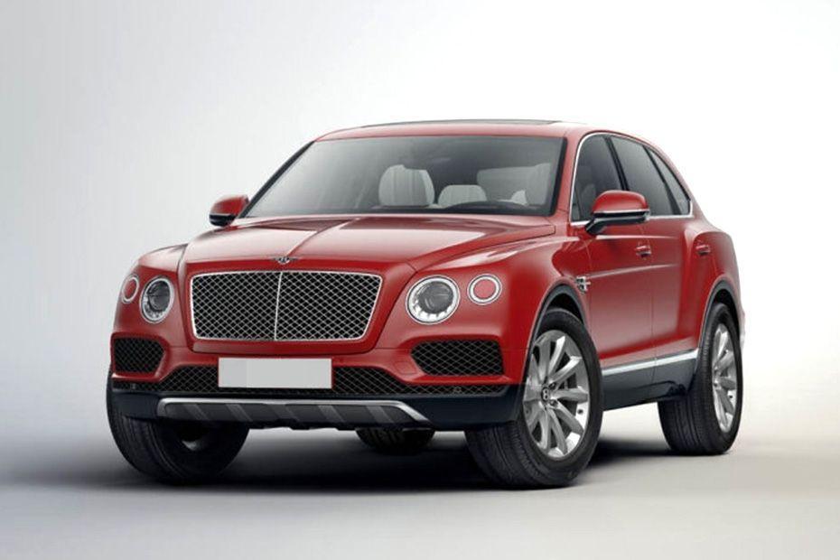 Bentley Bentayga Front Left Side