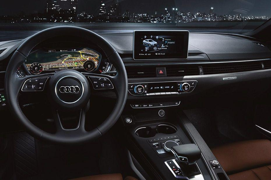Audi RS5 DashBoard Image
