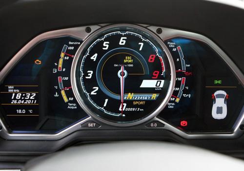 Lamborghini Aventador Mileage