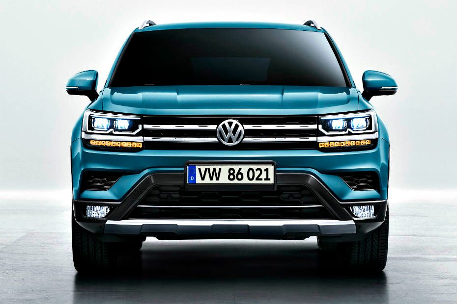 Volkswagen Reveals Upcoming Jeep Compass Rival In China | CarDekho.com