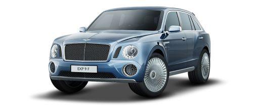 Bentley EXP 9F Pictures
