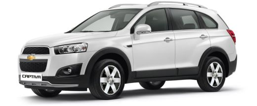 Chevrolet Captiva Price, Images, Mileage, Specifications, Reviews