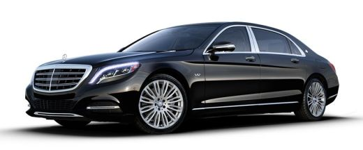 Maybach S600 Pictures