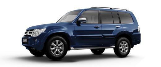 Mitsubishi Montero 2007-2012 Pictures