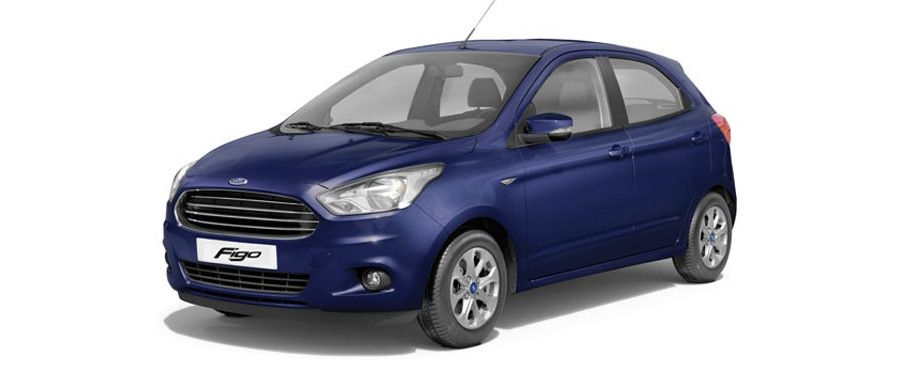 Ford FigoDeep Impact Blue Color
