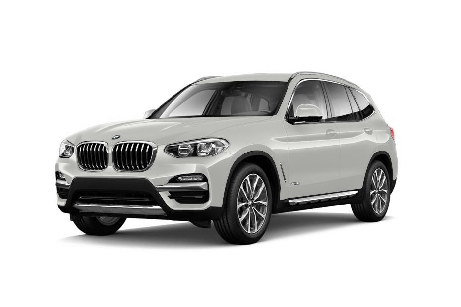 BMW X3Mineral White Color