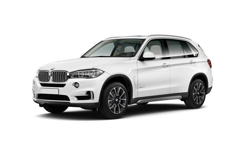BMW X5Alpine White Color