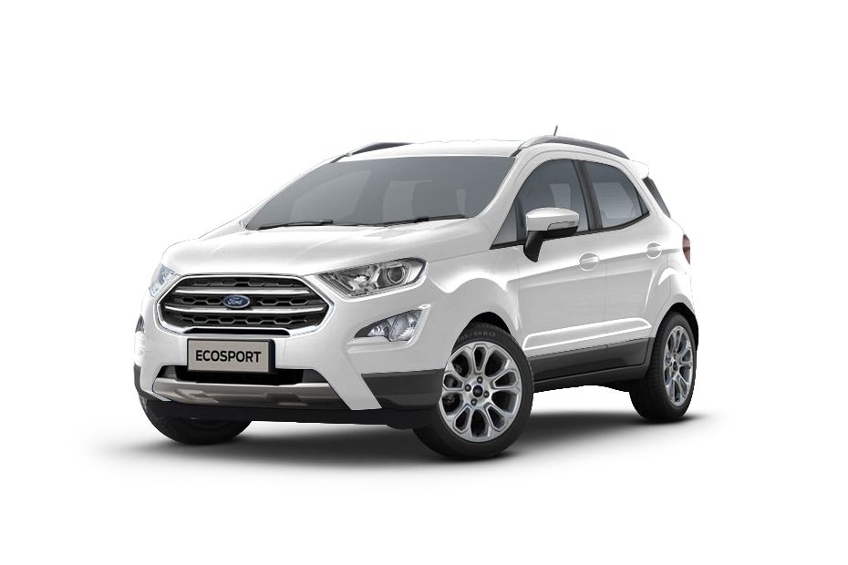 Ford EcoSportDiamond White Color