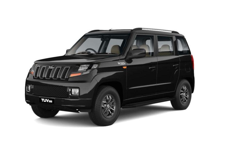 Mahindra TUV 300Bold Black Color