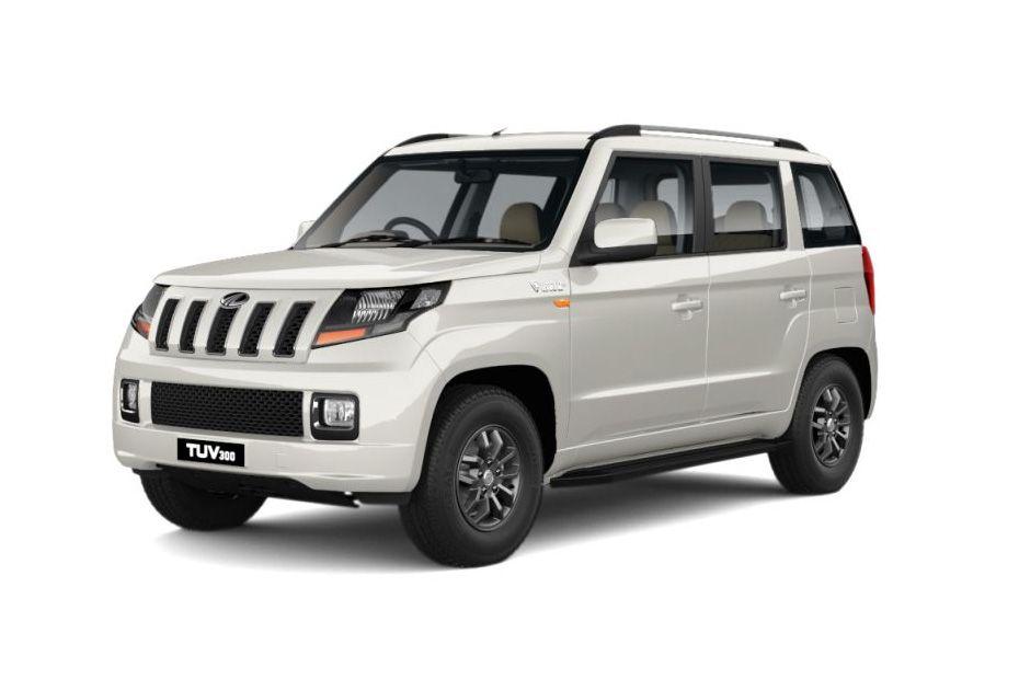 Mahindra TUV 300Pearl White Color