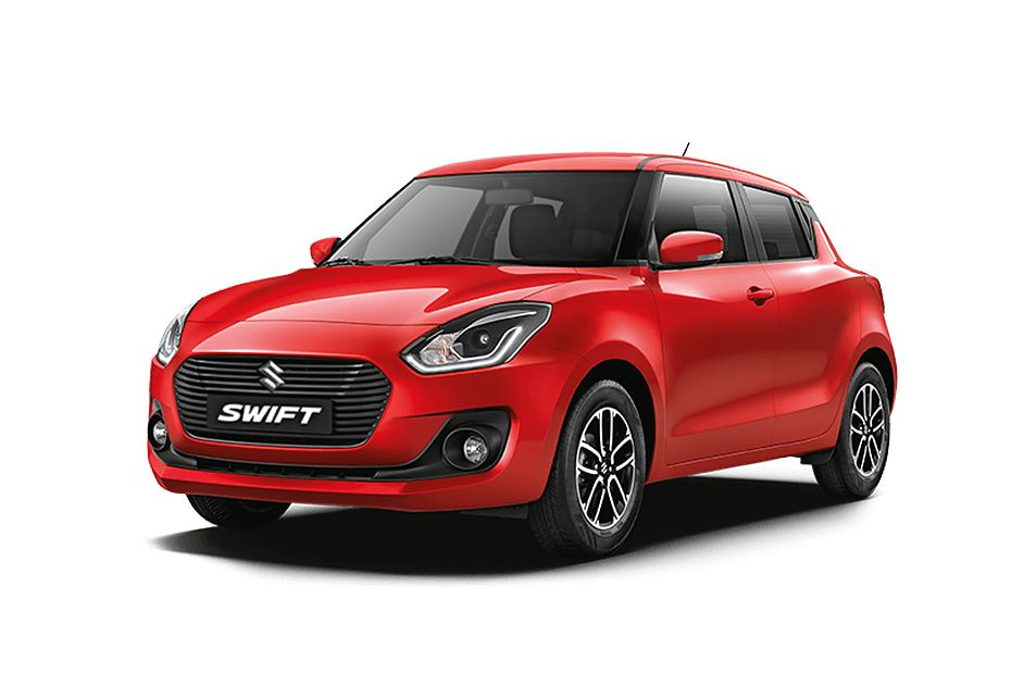 Maruti SwiftSolid Fire Red Color