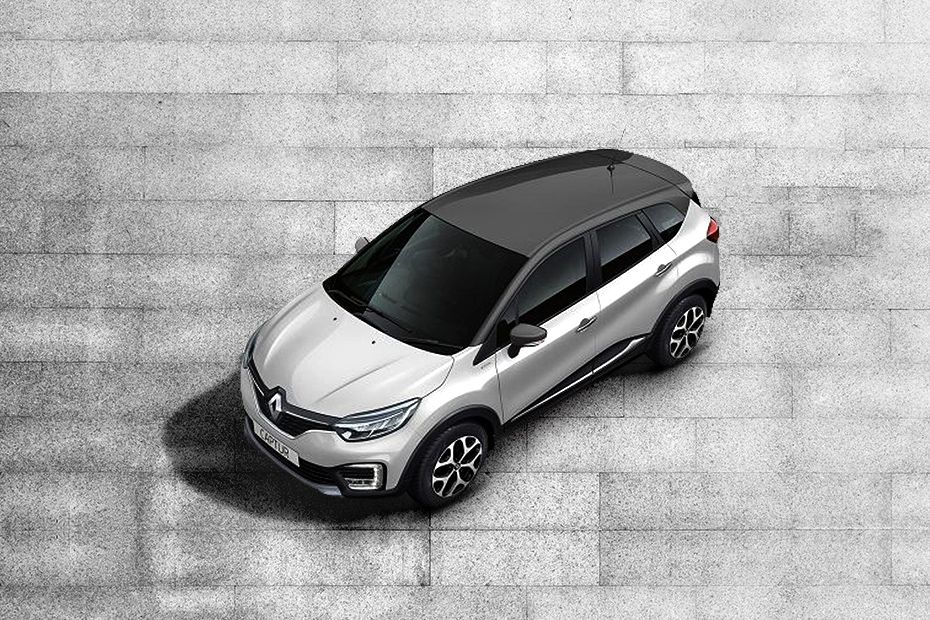 Renault CapturPEARL-WHITE-BODY-WITH-PLANET-GREY-ROOF Color