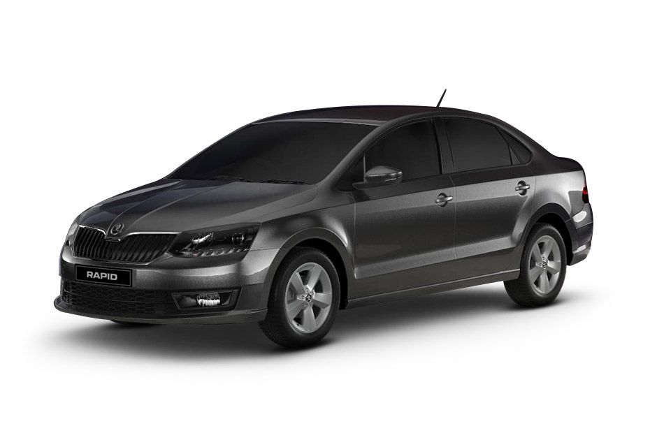 Skoda RapidCarbon Black Color