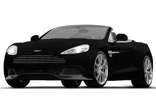 Aston Martin VanquishOnyx Black Color