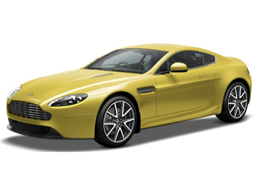 Aston Martin VantageYellow Color