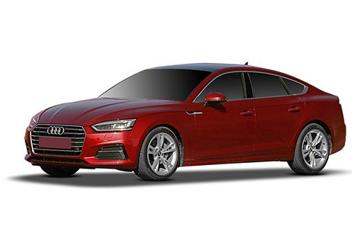 Audi A5Blazing Red Color