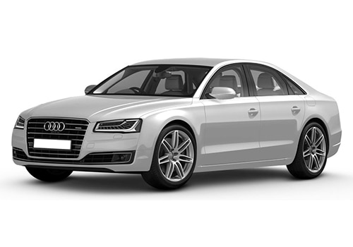 Audi A8Glacier white Metallic Color
