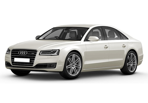 Audi A8Ibis White Color