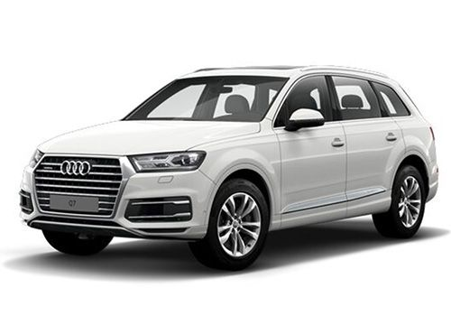 Audi Q7Carrara White Color