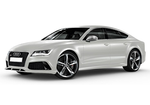 Audi RS7Ibis White Color
