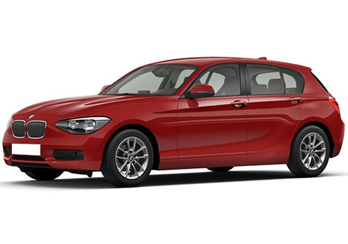 BMW 1 SeriesCrimson Red Color