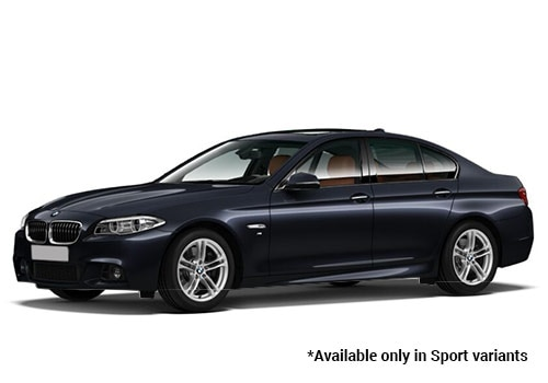 BMW 5 SeriesCarbon Black metallic Sport Variant Color