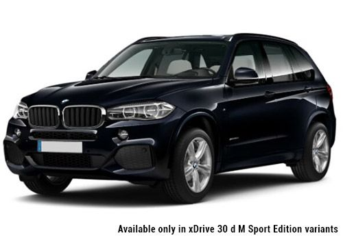 BMW X5Carbon Black Color