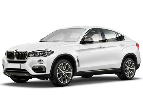 BMW X6Alpine White Color