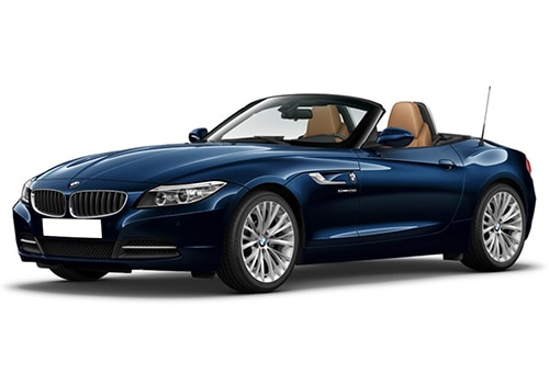 BMW Z4Deep Sea Blue Color