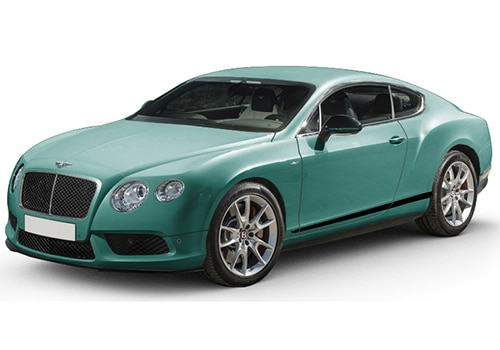 Bentley ContinentalAlpine Green Color