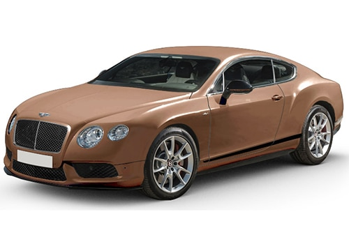 Bentley ContinentalAmber Color