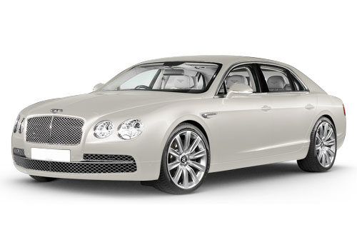 Bentley Flying SpurGlacier White Color