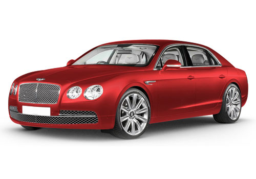 Bentley Flying SpurJames Red Color