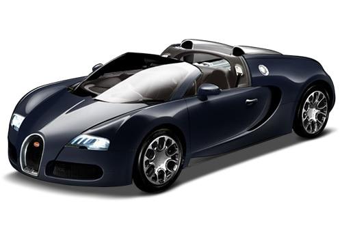 Bugatti VeyronBlack Blue-M Color