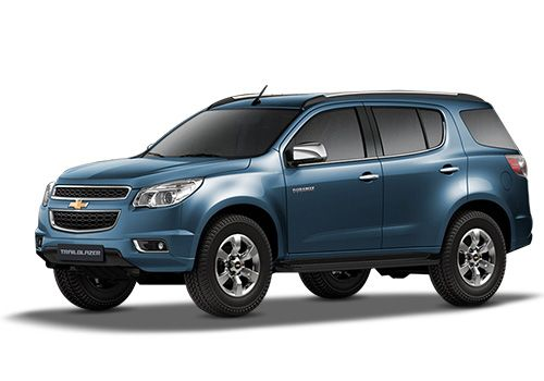 Chevrolet Trailblazer Colours 2018 in India | CarDekho.com