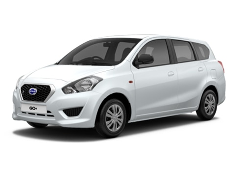 Datsun GO PlusWhite Color
