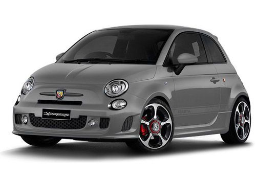 Fiat 500Campovolo Grey Color
