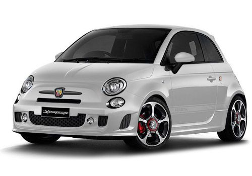 Fiat 500Iridato White Color
