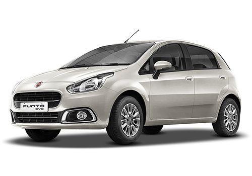 Fiat Punto EVOBossa Nova White Color
