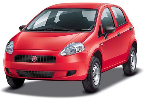 Fiat Punto PureExotic Red Color