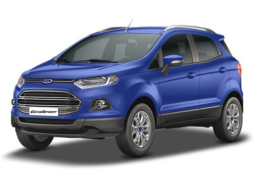 Ford EcoSportKinetic Blue-Ford Ecosport Color