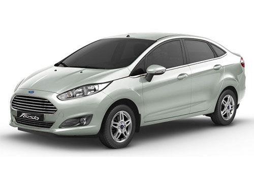Ford Fiesta Diamond White
