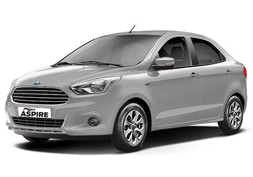Ford AspireMoondust Silver Color