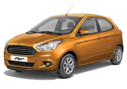 Ford FigoSparkling Gold Color